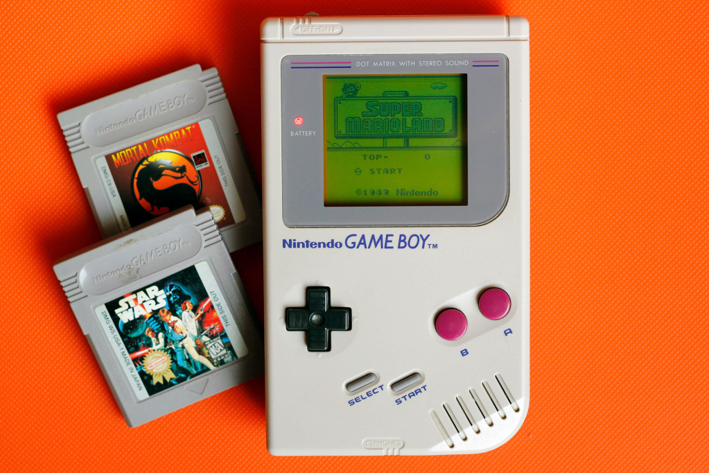 gameboy tecnologias antigas