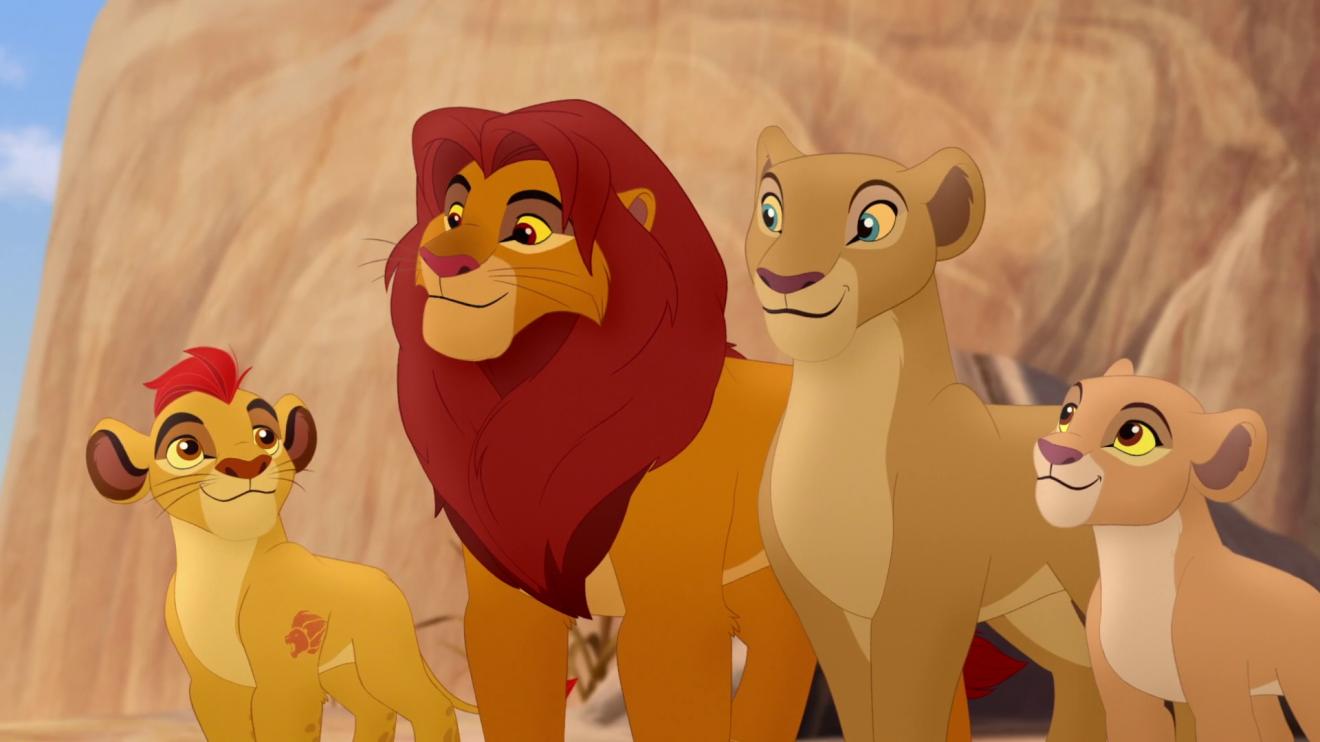 The Lion Guard da Disney também está disponível no Netflix