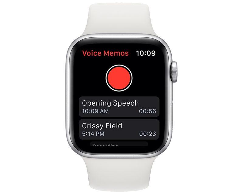 O aplicativo Voice Memos permite que você crie e reproduza gravações em todos os dispositivos Apple.