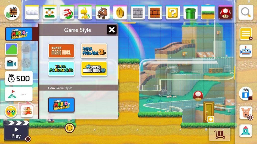 O game tem 5 estilos de games, cada um com temas diferentes para agradar todos os gostos