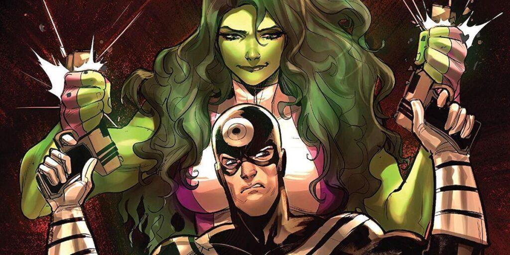 She-Hulk e toda sua força acabando com os planos de qualquer um!