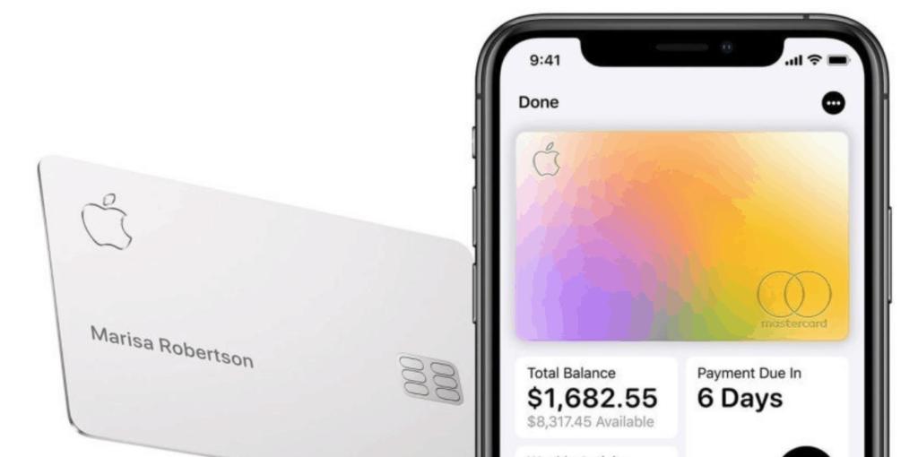 O Apple Card pode sofrer manchas ou riscos se entrar em contato com outros materiais