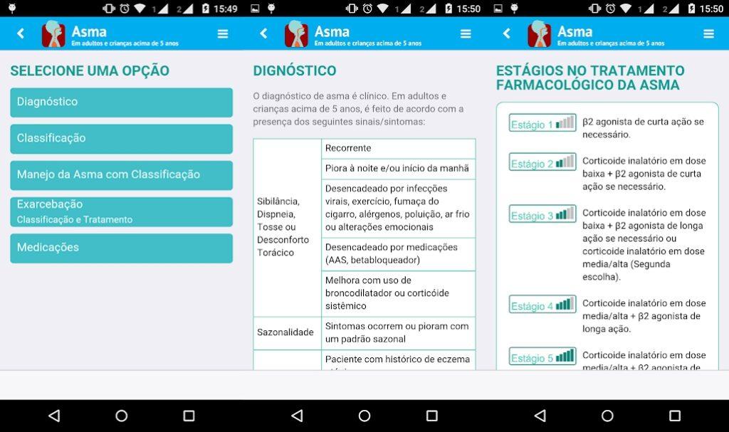 Controle a Asma pelo APP da UFRG