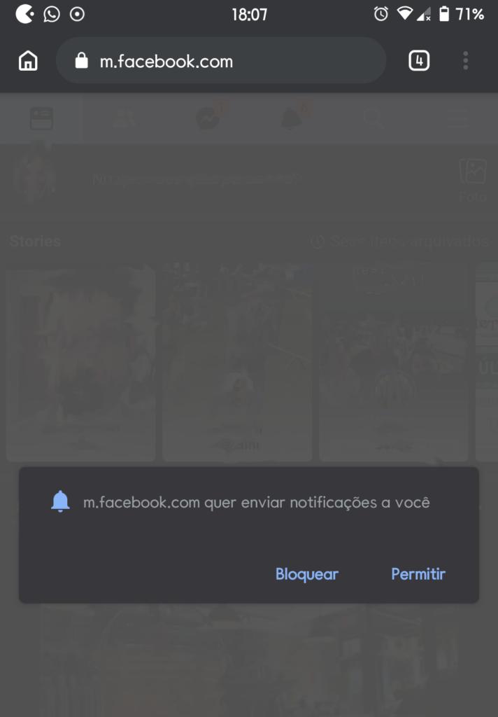 Receba notificações do facebook e twitter pelo google chrome