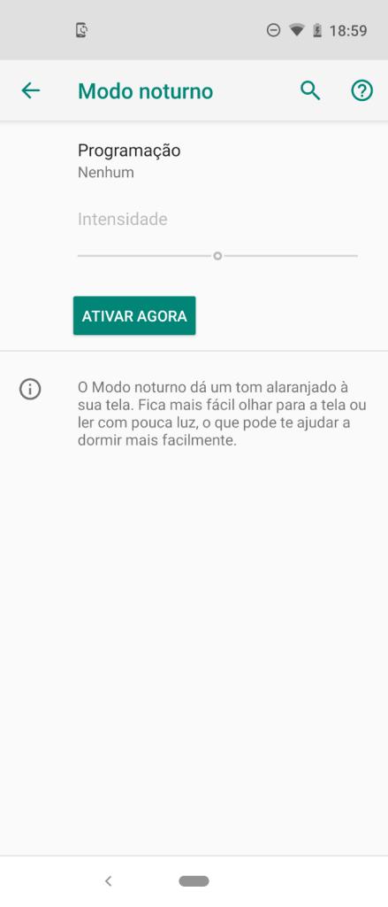 Tela interativa do Moto Vision