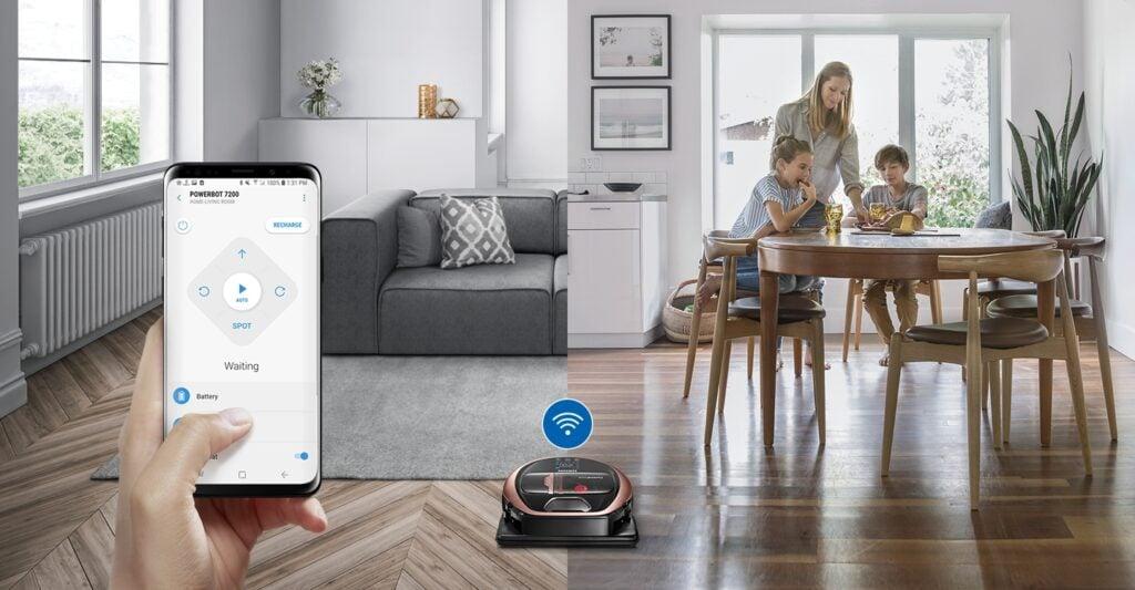 Aspirador robô da Samsung, lançado em julho