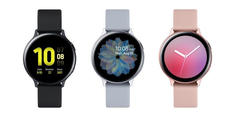 O galaxy watch active2 tem um design pensado para ser tanto agradável quanto personalizável