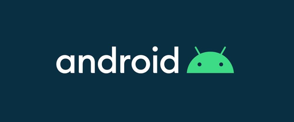 O novo logo do Android 10 pode ser também em letra branca
