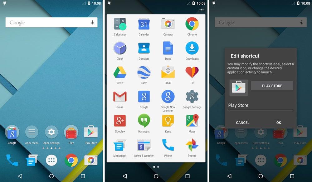 O Apex Launcher oferece diversas funções e temas para o usuário