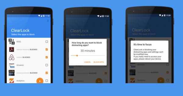 O cleaklock permite bloquear aplicativos específicos