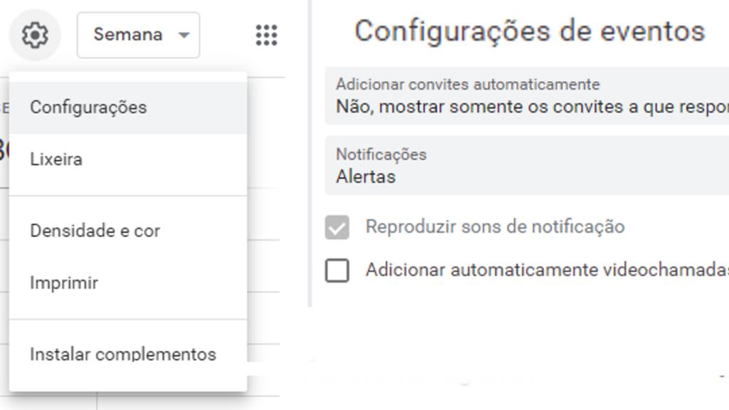 Impeça que o Google Agenda seja capaz de adicionar automaticamente qualquer convite que possa ser enviado