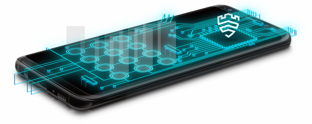 Rede de segurança da Samsung em dispositivos
