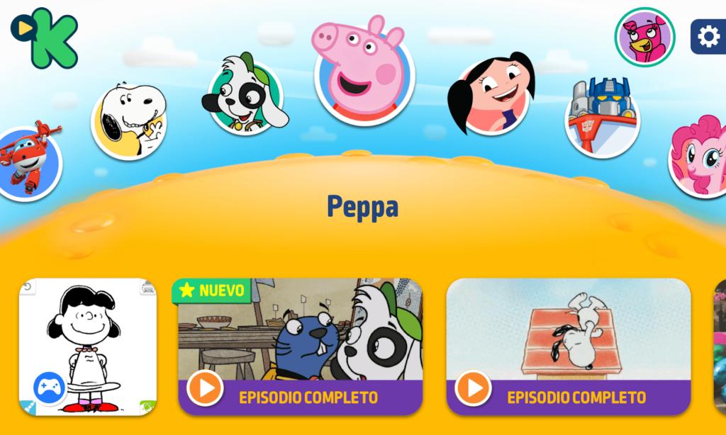 Discovery Kids Play tem uma sessão de jogos