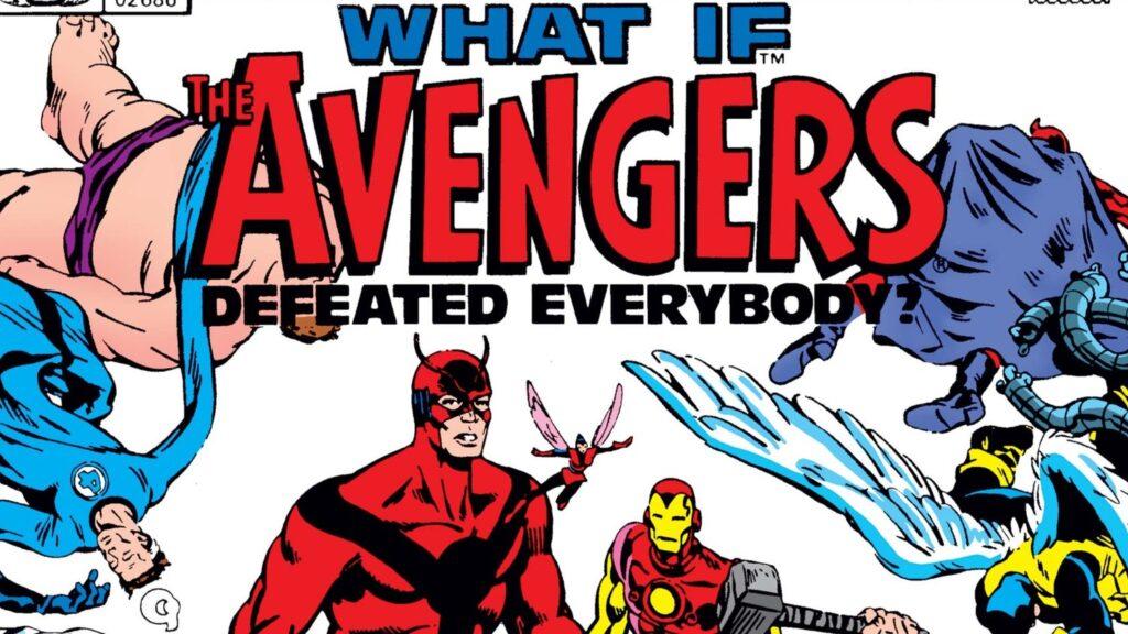 """""""E se os Avengers Derrotassem Todo Mundo?"""" é uma das HQ's de What If...? da Marvel"""
