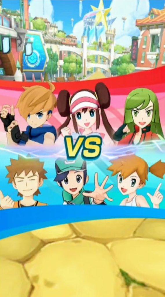 Imagens do jogo pokémon masters
