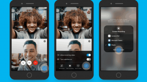 skype preview introducing screen sharing on mobile