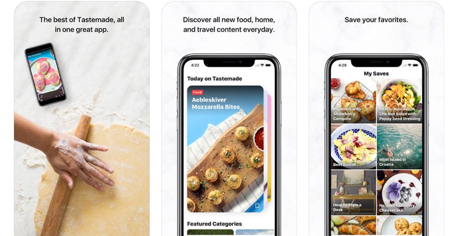 Tastemade é daqueles apps culinários que entrega tudo que promete