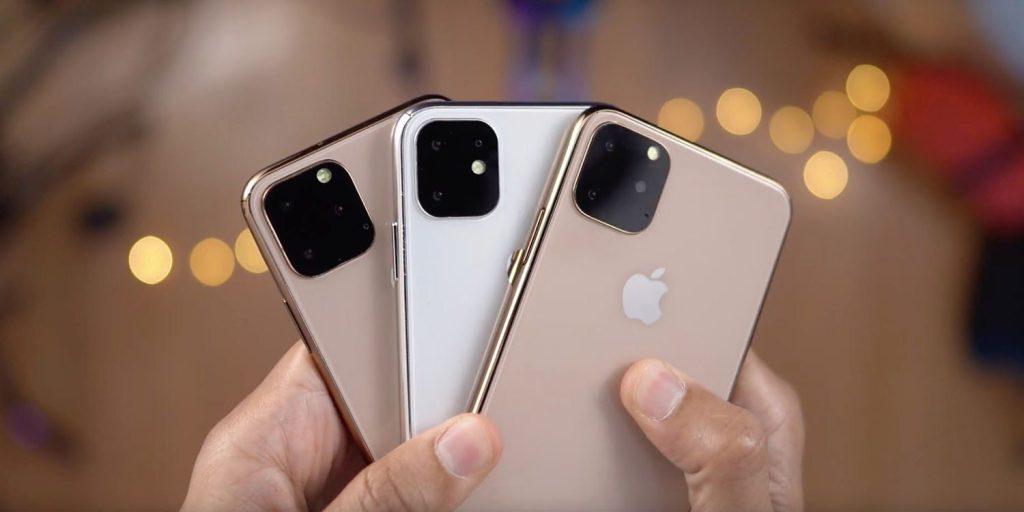 Dummies mostrados pela Apple para a nova linha de iPhones