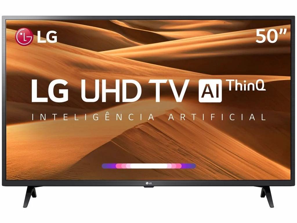 A Smart TV 4K da LG de 50 polegadas está com uma promoção incrível no Magalu e Você