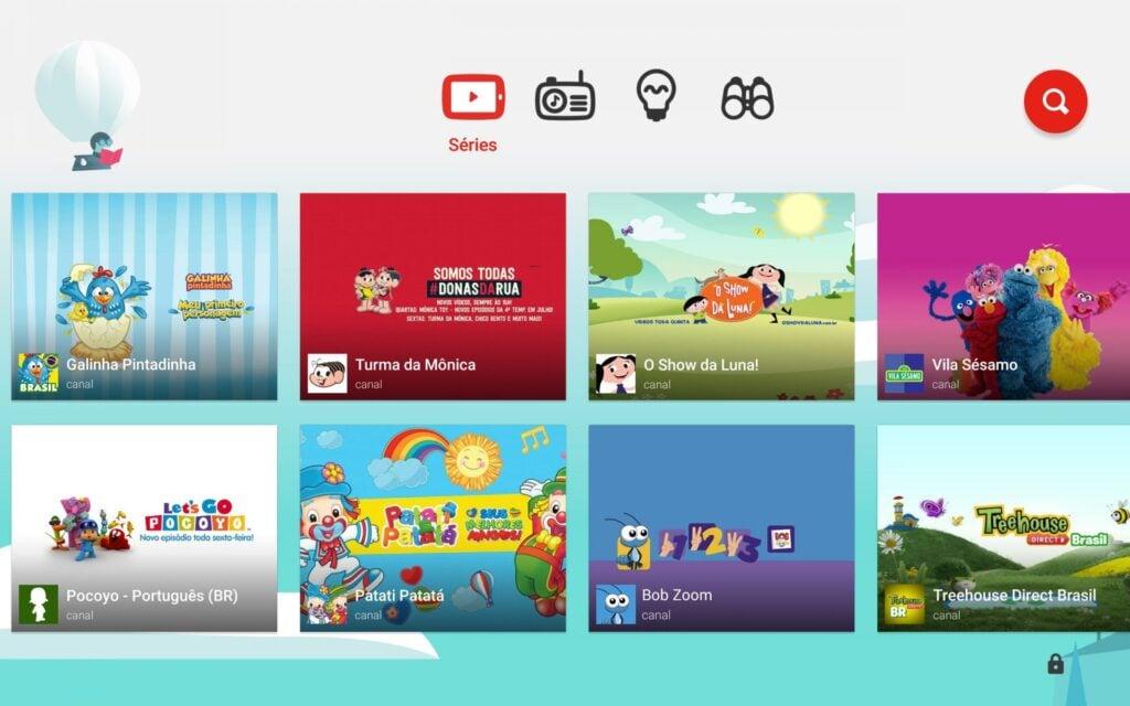 O app perfeito pra você não só entreter, mas também se divertir junto ao lado de sua criança!
