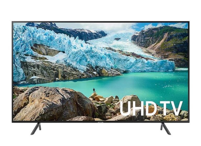 A Smart TV Samsung 49RU7100 traz um tamanho legal com alta qualidade de imagem
