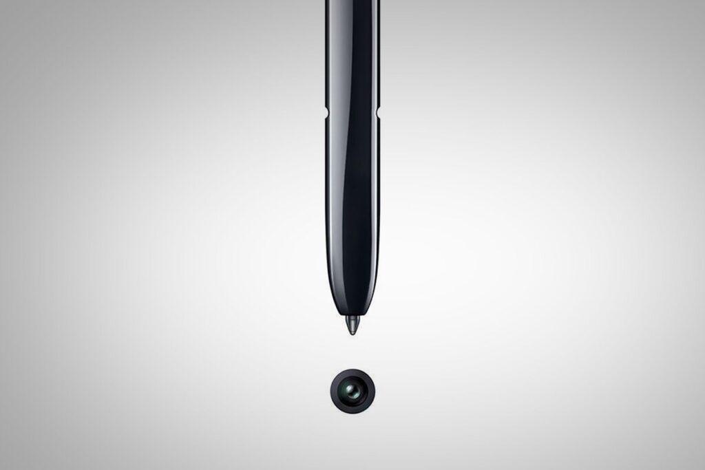S Pen melhorada com sensor giroscópico