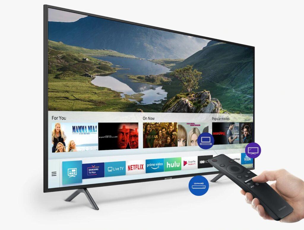 Controle remoto único permite comandar outros dispositivos plugados na televisão