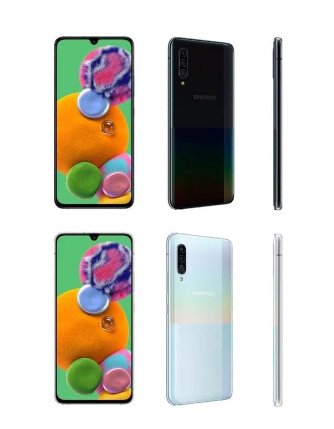 Samsung apresenta Galaxy A90 com Snapdragon 855 e conexão 5G