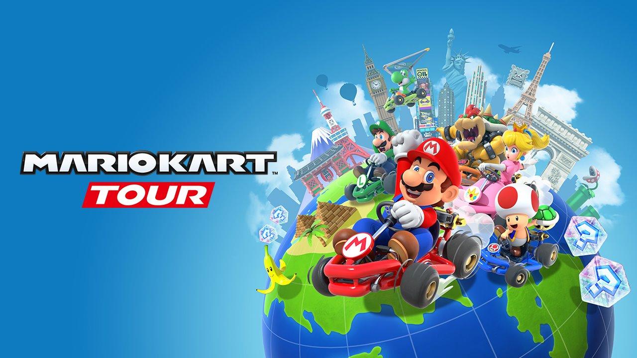 Mario Kart Tour Capa