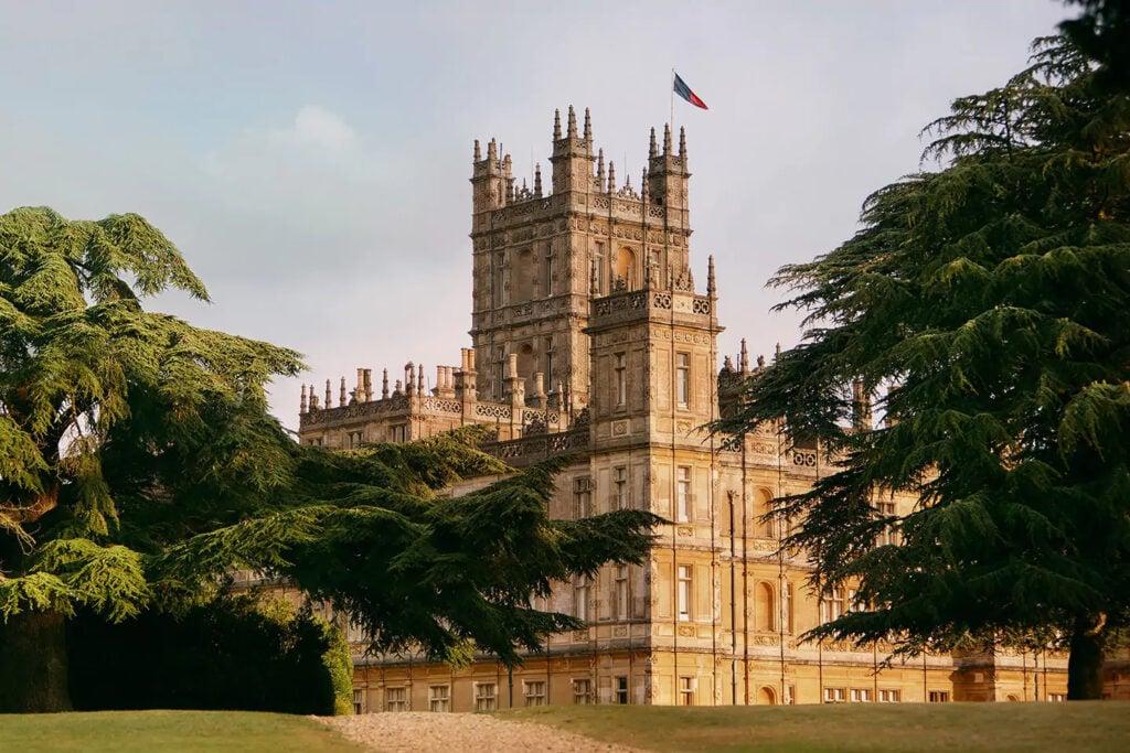 Castelo da série downton abbey