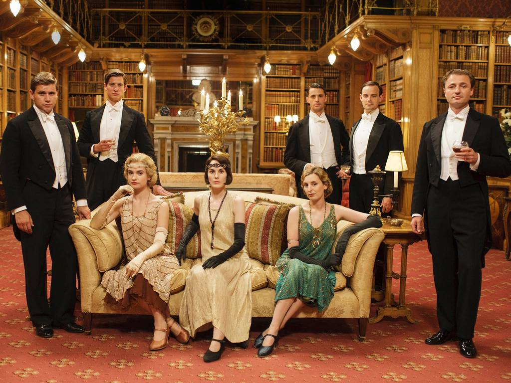 Airbnb - Filme Downtown Abbey