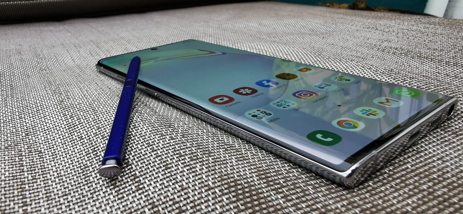 Nova S Pen ganhou um giroscópio que realiza os Air Actions, interação com o Galaxy Note 10 apenas com gestos