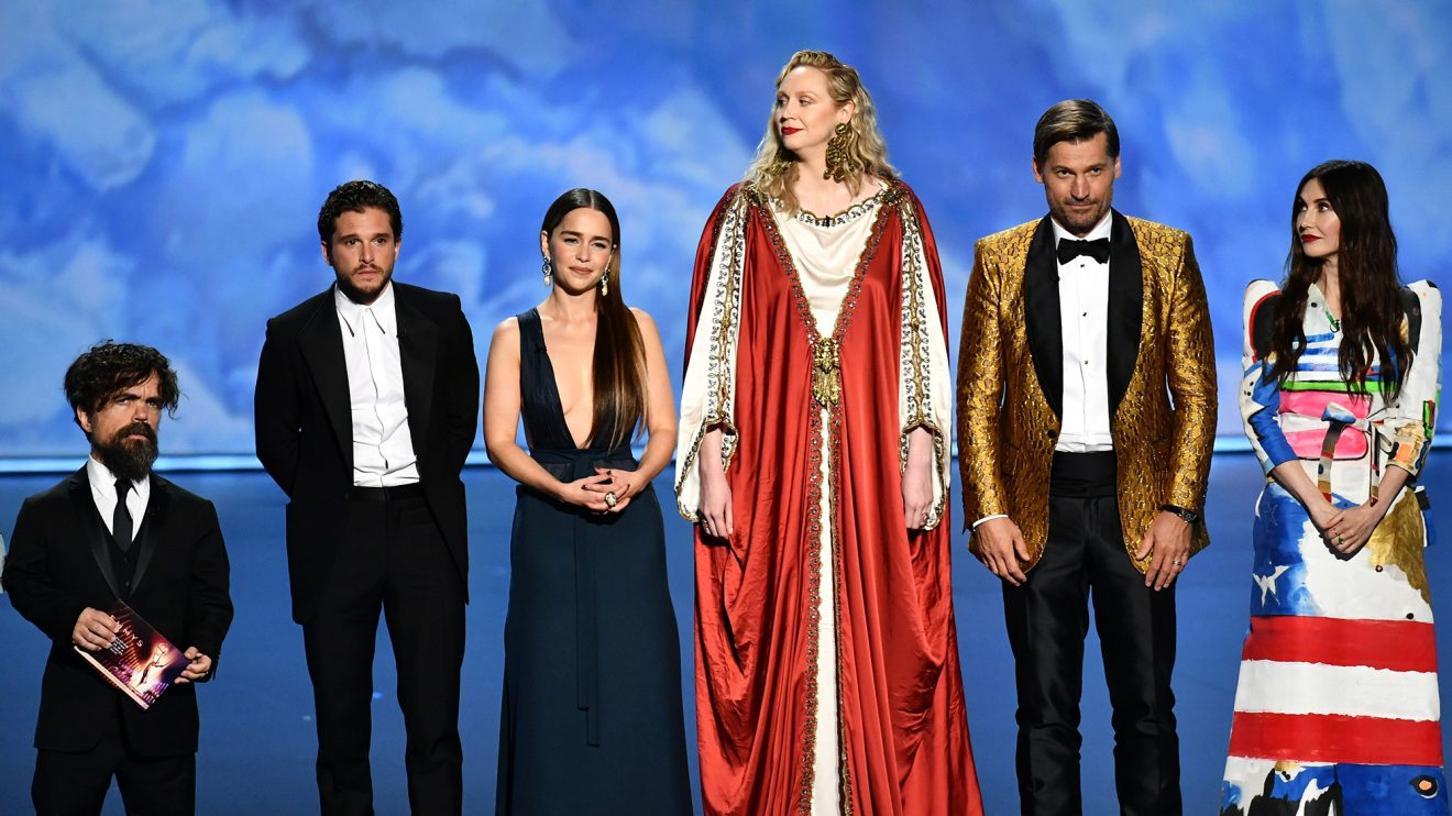 Game of Thrones Cast Receives Standing Ovation Emmys 2019