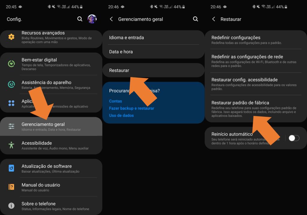 Como realizar um hard reset no seu smartphone Android