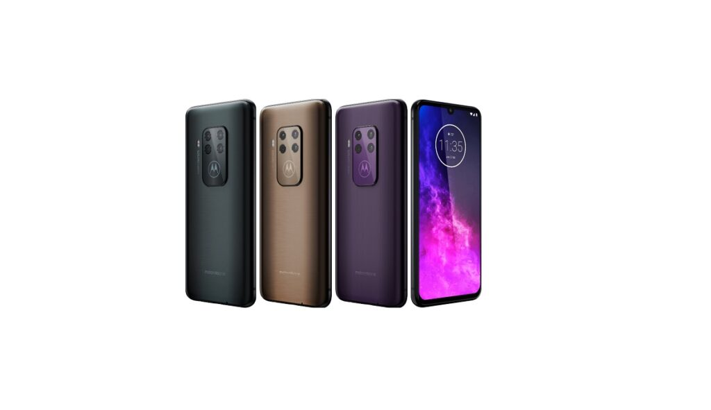 Cores do Motorola One Zoom
