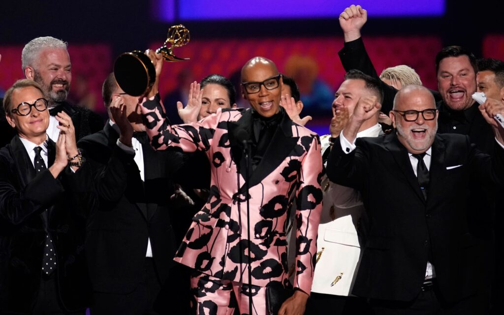 RuPaul sai premiado do Emmy