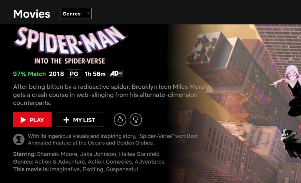Séries e filmes da Netflix americana com CyberGhost VPN