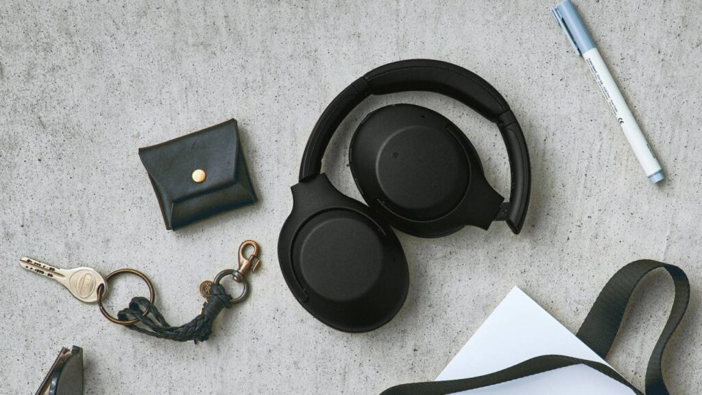 Microfone do WH-XB900N