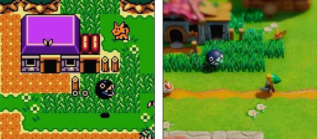 O remake tem um design fiel ao material original, mas preservando a essência do game