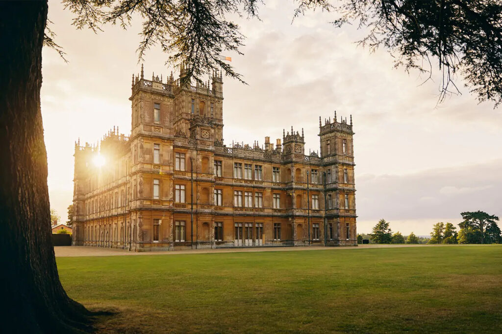 Castelo da série Downton Abbey