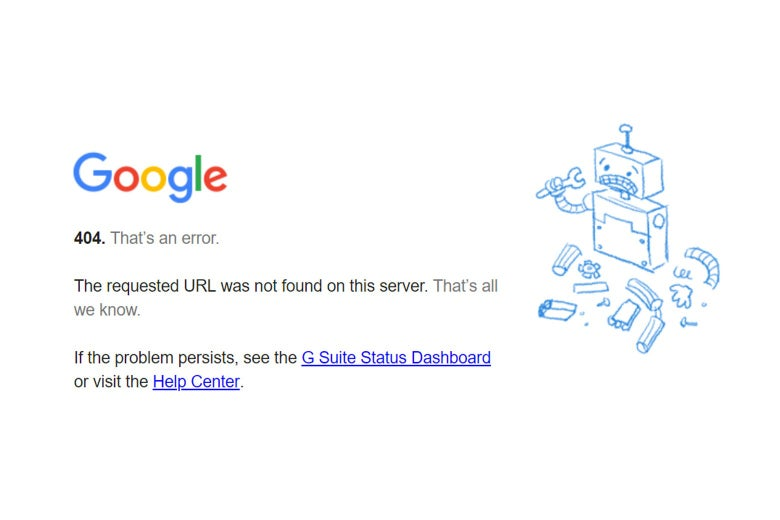 Muitas vezes uma página web pode estar fora do ar ou passar por instabilidades