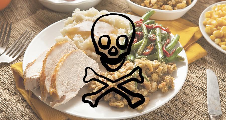 Alimentos venenosos que você come diariamente