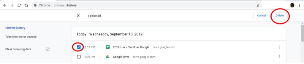 Como excluir todo o histórico de pesquisa no Google
