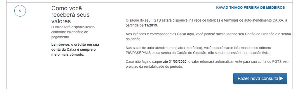 FGTS Saque 4