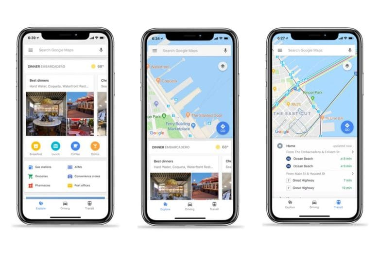Google maps é talvez um dos aplicativos de viagem definitivos
