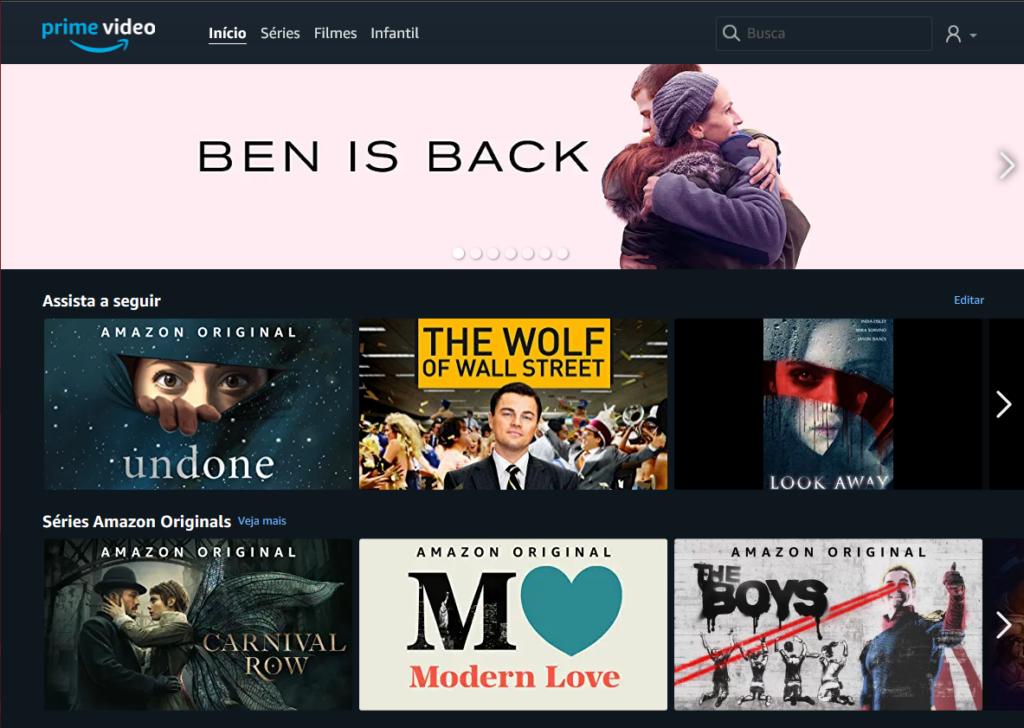 Filmes e séries originais do Amazon Prime Video estarão disponíveis para os assinantes