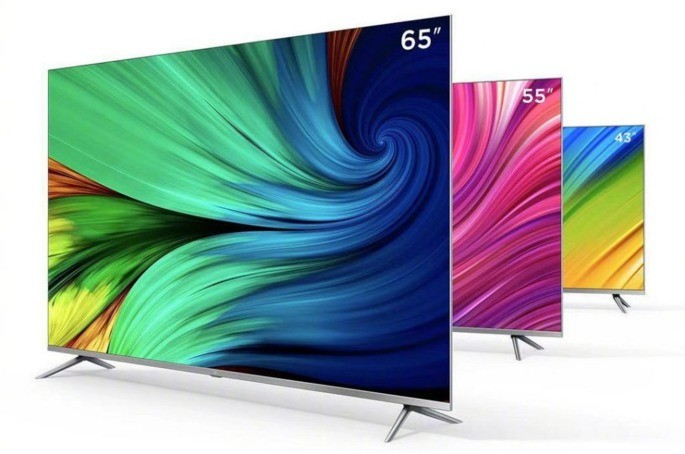"""As novas TVs da Xiaomi chegam em 3 diferentes dimensões: 43"""", 55"""" e 65"""""""
