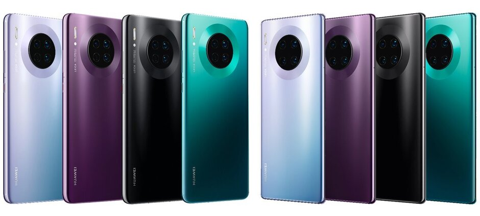 Os novos Huawei Mate 30 e 30 Pro contam com o iconico