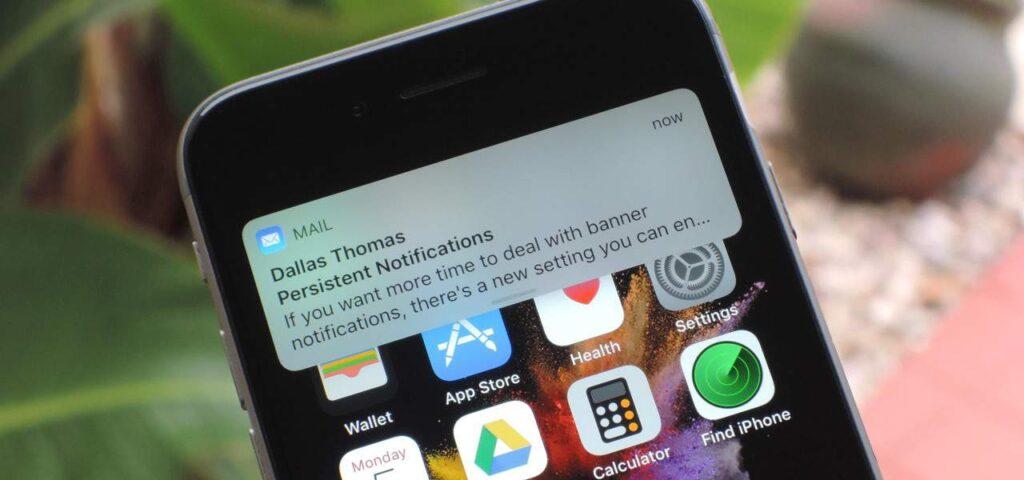 Aplicativos que não enviam notificações drenam menos a bateria do iphone