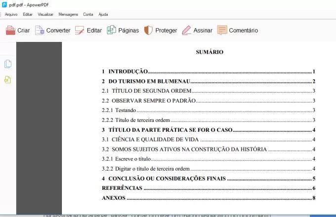 O ApowerPDF permite inserir outros pdfs nos arquivos